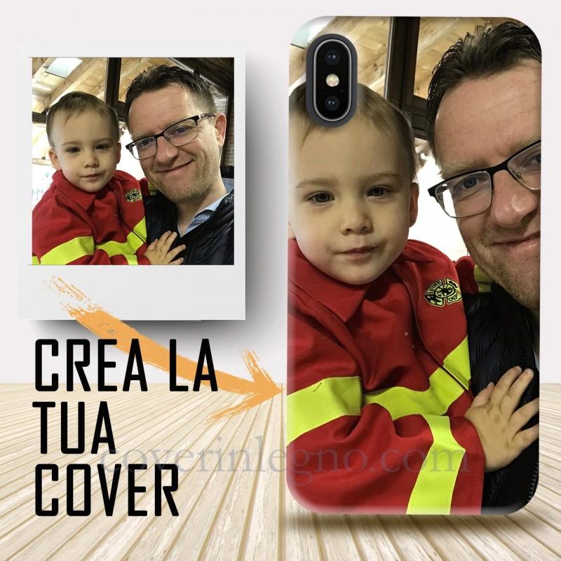 Cover iphone X-XS personalizzata con foto