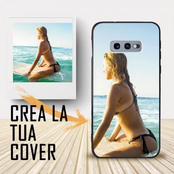 Cover S10 e Samsung personalizzabile. Crea la tua cover , crea cover ! Cover personalizzata per Samsung