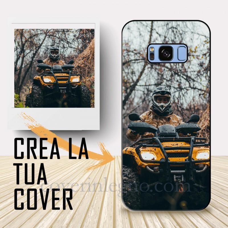 Cover S8 Samsung personalizzabile. Crea la tua cover , crea cover ! Cover personalizzata per Samsung .