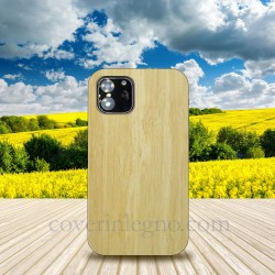 Cover in Legno Iphone 12 mini personalizzabile con foto incisione