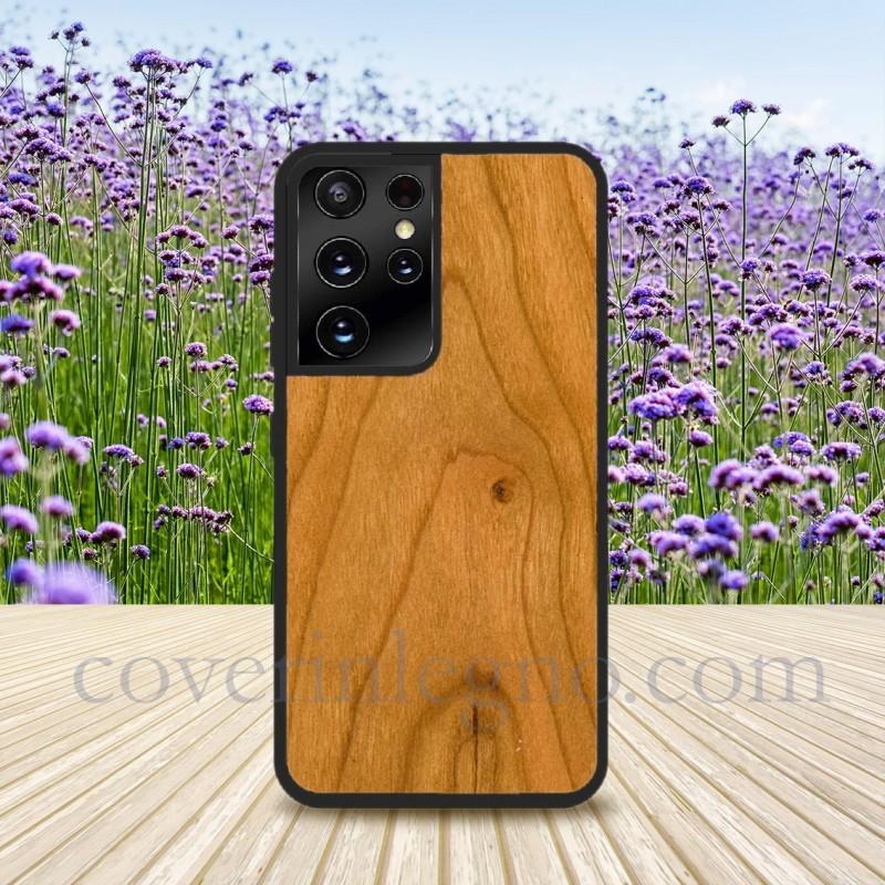 Cover in Legno S21 ultra Samsung