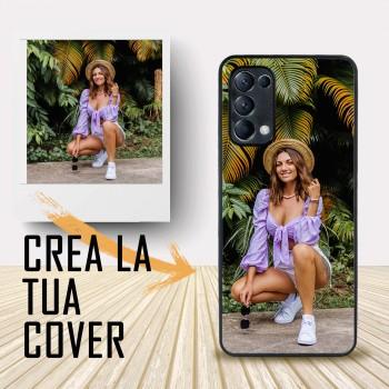 Oppo Reno 5 personalizzabile. Crea la tua cover , crea cover ! Cover personalizzata per Oppo .