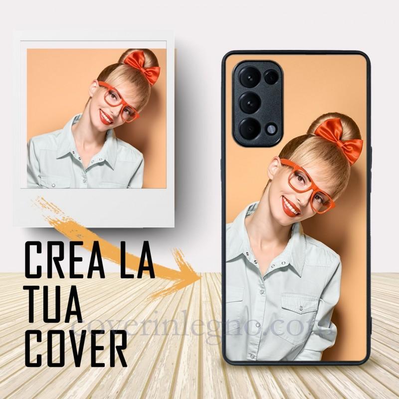 Oppo Reno 5 Pro personalizzabile. Crea la tua cover , crea cover ! Cover personalizzata per Oppo .