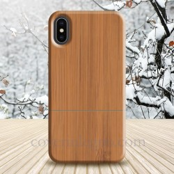 Cover Iphone X - XS in legno di bamboo
