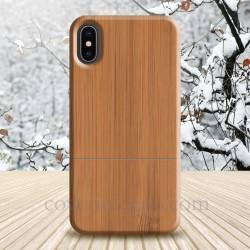 Cover Iphone X - XS in legno di bamboo