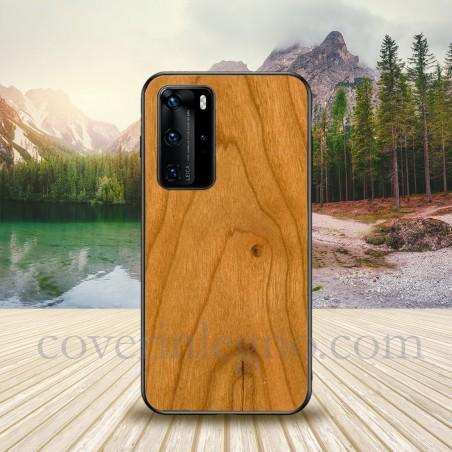 Cover in legno personalizzabile huawei p40