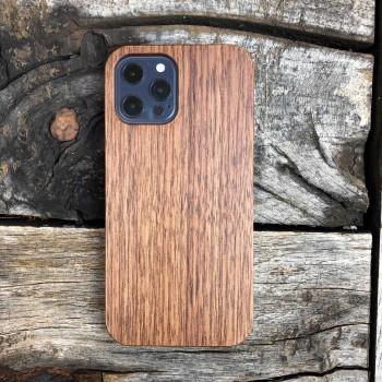 Cover IPhone 12 personalizzabile in legno di noce