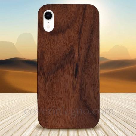Cover in Legno Iphone XR personalizzabile con foto incisione