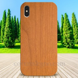 Cover in Legno Iphone XS MAX personalizzabile con foto incisione
