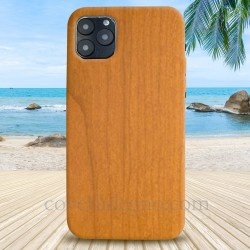 Cover in Legno Iphone 11 PRO MAX personalizzabile con foto incisione