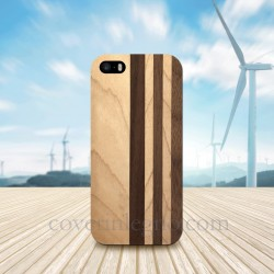 Cover in Legno Iphone 5 - SE personalizzabile con foto incisione