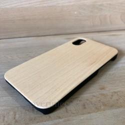 Cover in Legno Iphone X-XS personalizzabile con foto incisione