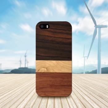 Cover in Legno Iphone 5 - SE personalizzabile con foto incisione