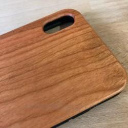 Cover in Legno Iphone XS MAX personalizzabile con foto incisione