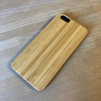 Cover in Legno Iphone 6 plus personalizzabile con foto incisione