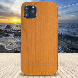 Cover in Legno Iphone 12 pro max personalizzabile con foto incisione